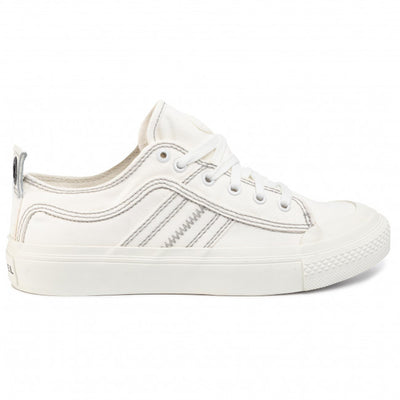 Womens S-Astico Low Lace Star White T1015 | Shop Diesel at IKON NZ