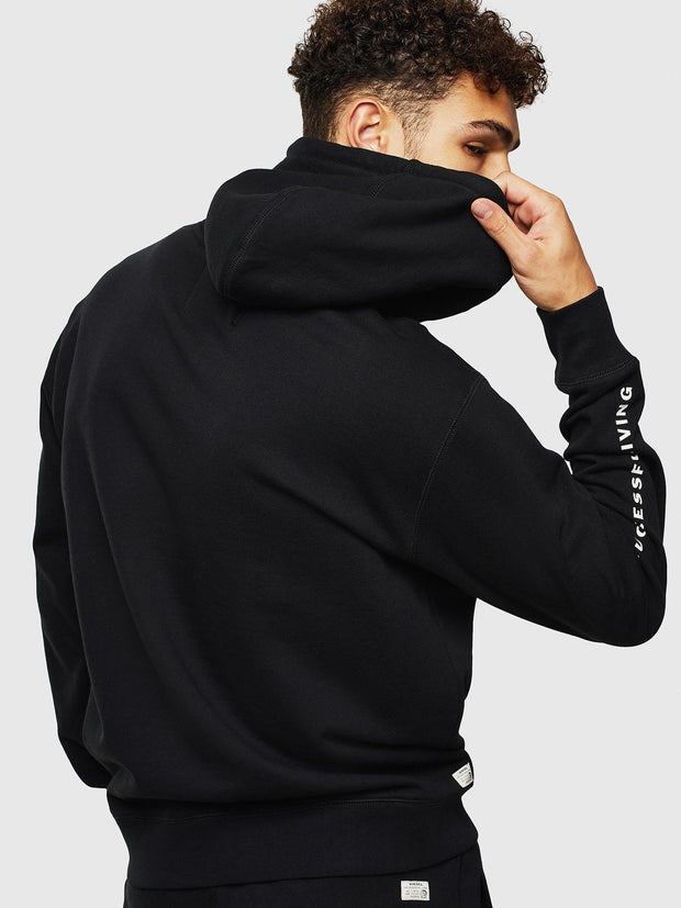 Mens UMLT-Brandon Sweat - Black 900