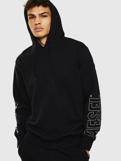 Mens UMLT-Brandon Sweat - Black 900 | Shop Diesel at IKON NZ