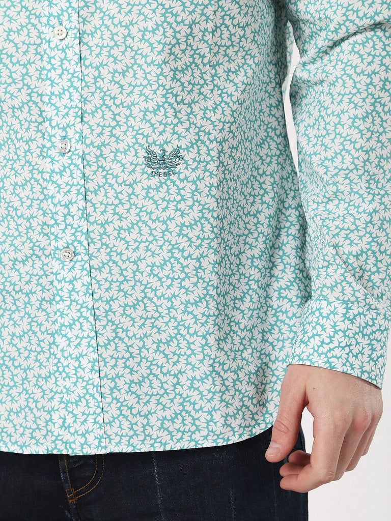 Mens S-Duny Shirt - Water Green
