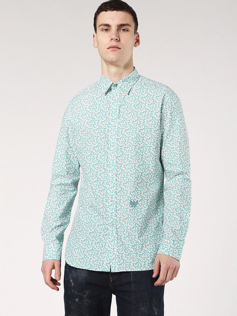 Diesel Mens S-Duny Shirt - Water Green