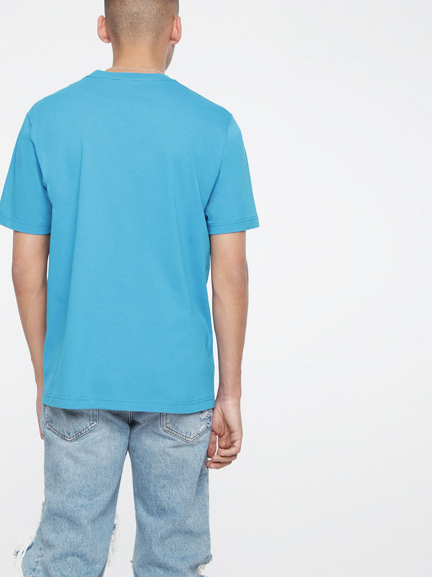 Mens T-Just-Pocket t-Shirt - Azure