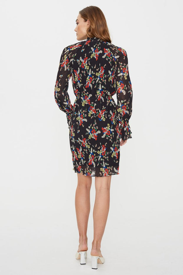Roxy LS Mini Dress - Dark Print