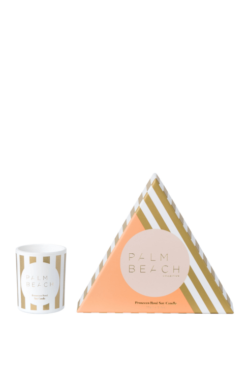 Mini Candle - Christmas Prosecco Rose` | Shop Palm Beach at IKON in Arrowtown, NZ