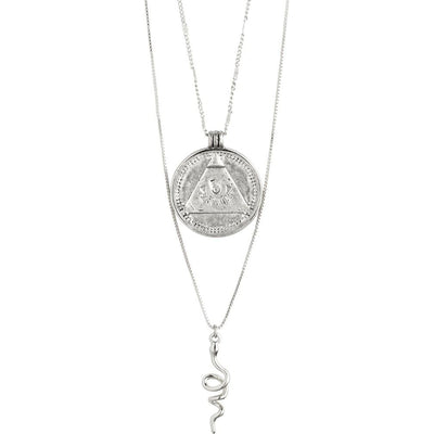 Sensitivity Necklace - Silver Plated | Shop Pilgrim Jewellery at IKON