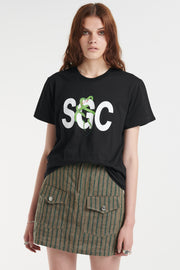 SGC Hiss Tee Black | Shop Stolen Girlfriends Club SGC at IKON NZ