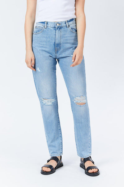 Nora Jean Destiny Blue Ripped | Shop Dr Denim Jeans at IKON NZ