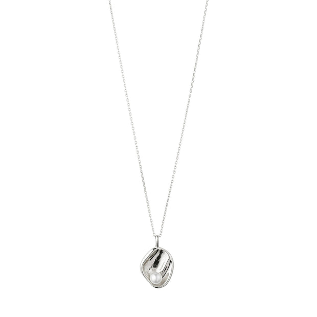 Warmth Necklace - White/Silver | Shop Pilgrim Jewellery, IKON NZ