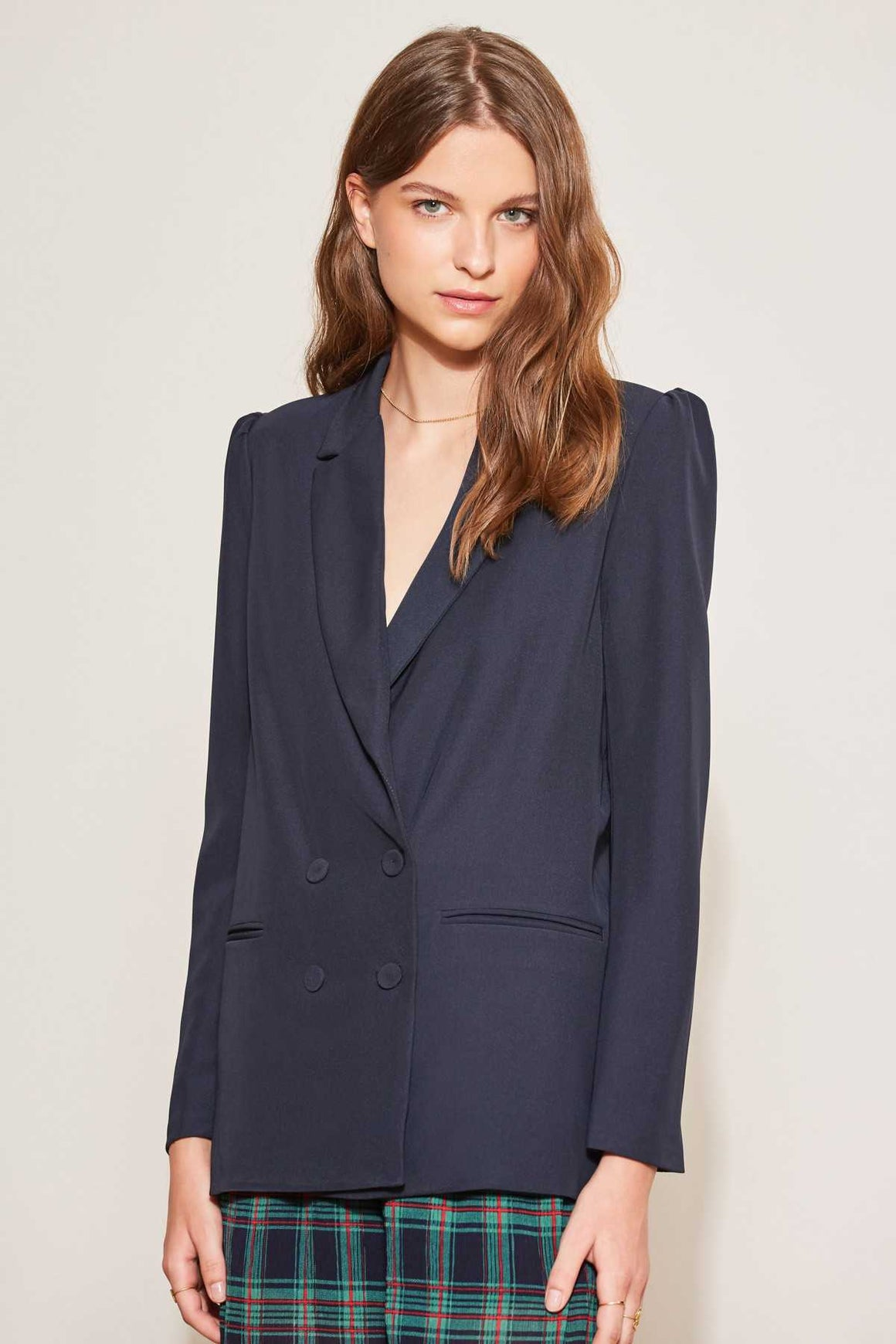 The Fifth Label Curveball Blazer in Navy | Shop online at IKON