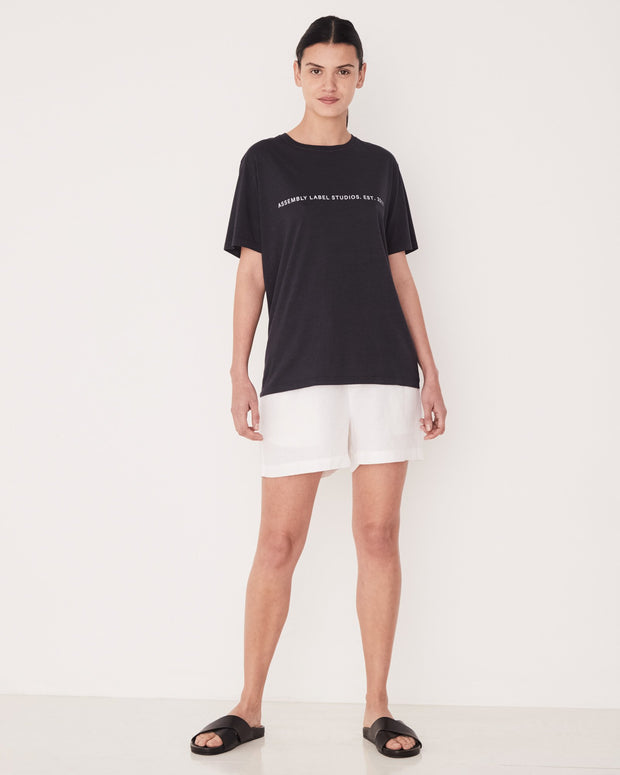Delmar Tee Womens - True Navy