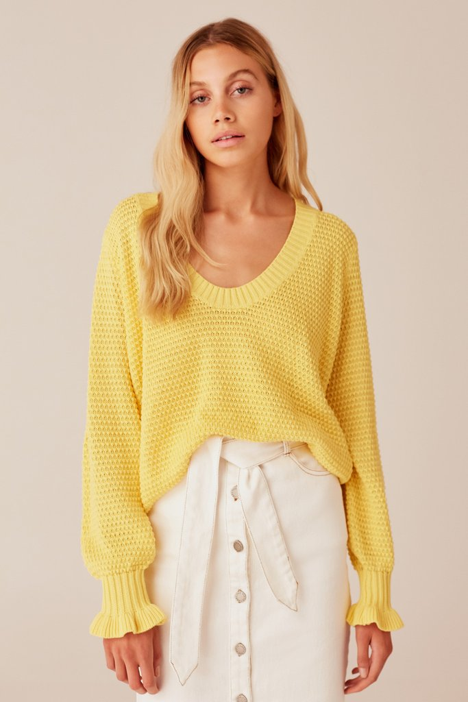 Calendar Knit - Yellow