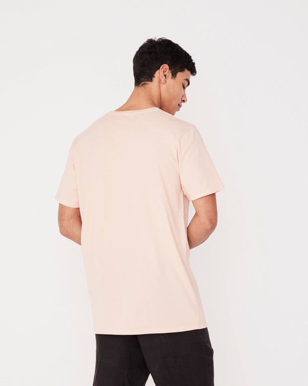 Mens Logo Tee - Blush