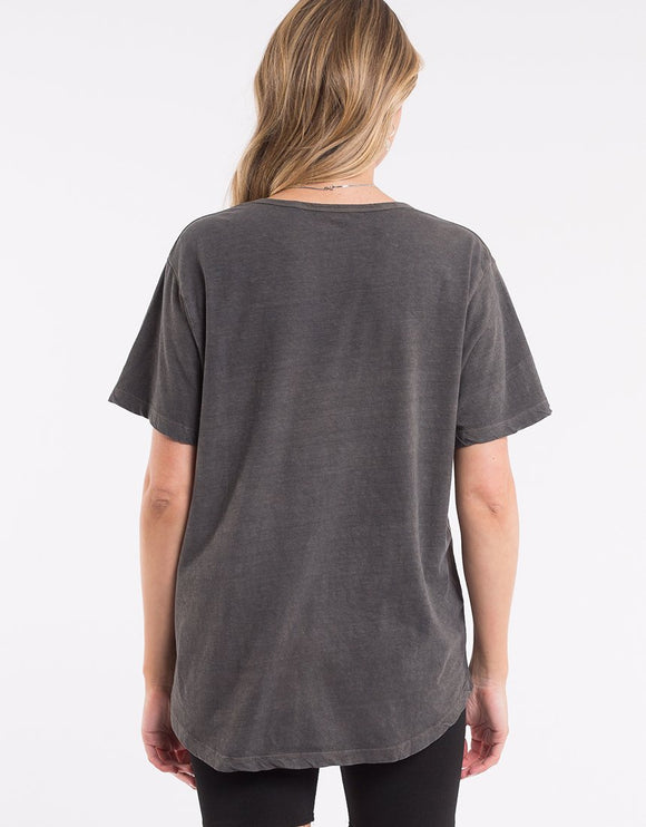 Jorge Tee Washed Black | Shop Jorge at IKON Arrowtown in NZ