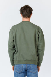 Mens Dario Sweater - Dark Emerald