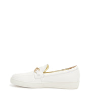 Sasha Loafer - White Pebble