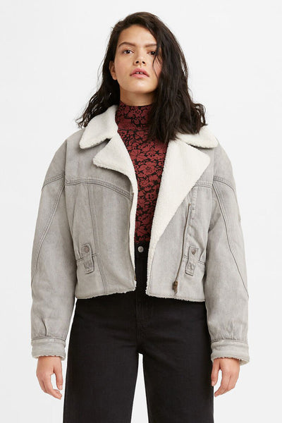 Romantic Biker Jacket - Mostly Cloudy | Shop Levis at IKON NZ