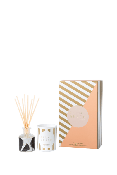 Mini Candle & Diffuser Pack - Christmas Prosecco Rose` | Shop Palm Beach at IKON in Arrowtown, NZ