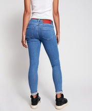 Freebirds II High Waist Skinny Jean - Miami Blue
