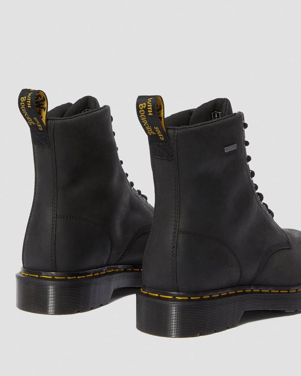 1460 Waterproof Lace Up Boot - Black