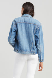 Ex-Boyfriend Trucker Jacket - Soft As Butter