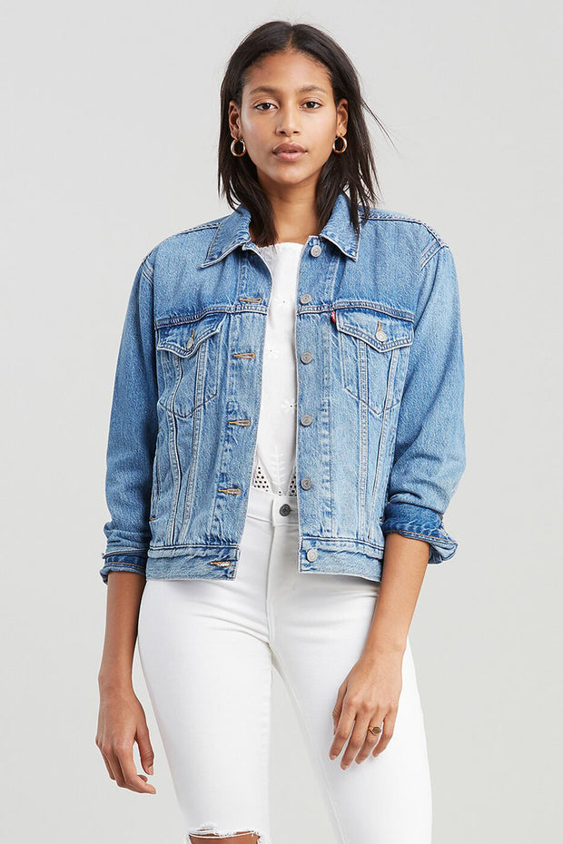 Ex-Boyfriend Trucker Jacket - Soft As Butter | Shop Levis at IKON NZ
