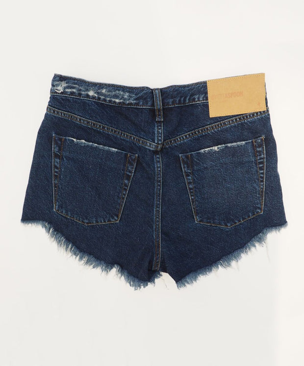 Outlaws Denim Shorts - Virgin Blue