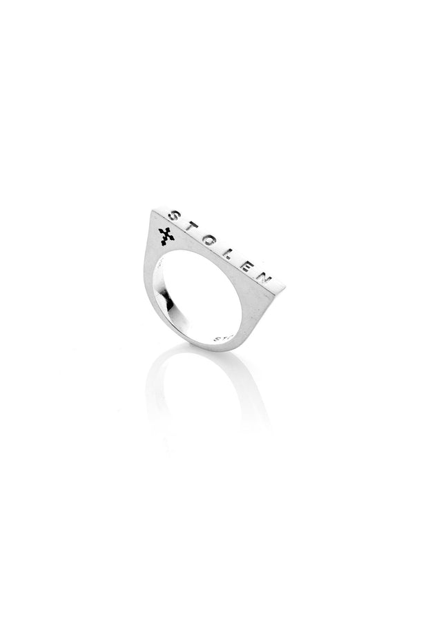 Thick Strip Ring | Shop Stolen Girlfriend Jewellery at IKON NZ