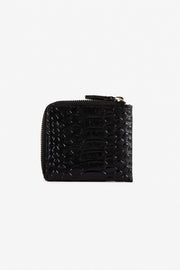 Zip Around Wallet - Black Snake | Shop Stolen Girlfriends Club at IKON in Arrowtown, NZ