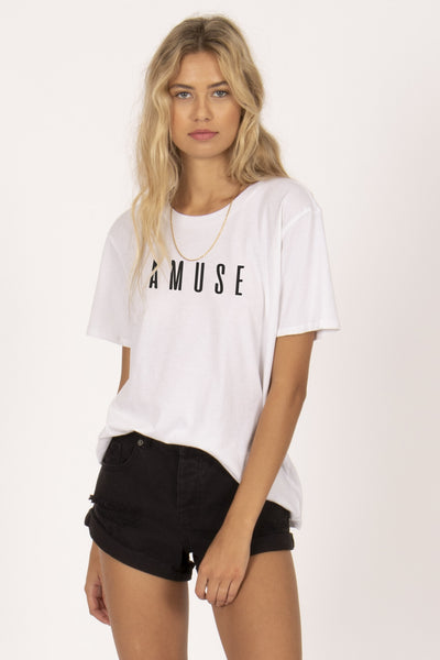 Classic Bae Tee - Vintage White shop online or in store at IKON