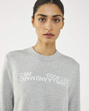 C&M James Logo Crew | Shop C&M Camilla and Marc at IKON NZ