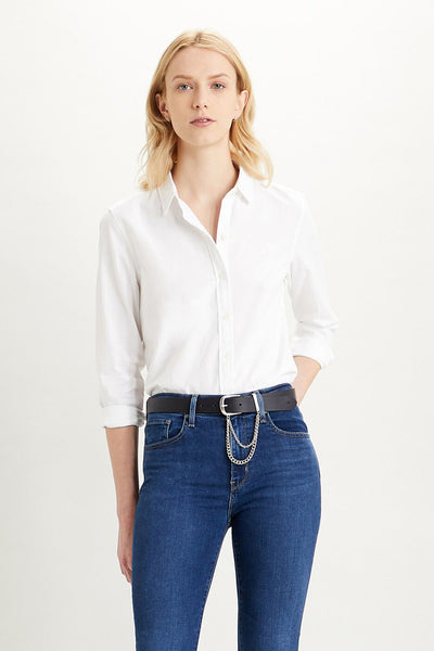 The Classic Shirt - White | Shop Levis at IKON NZ