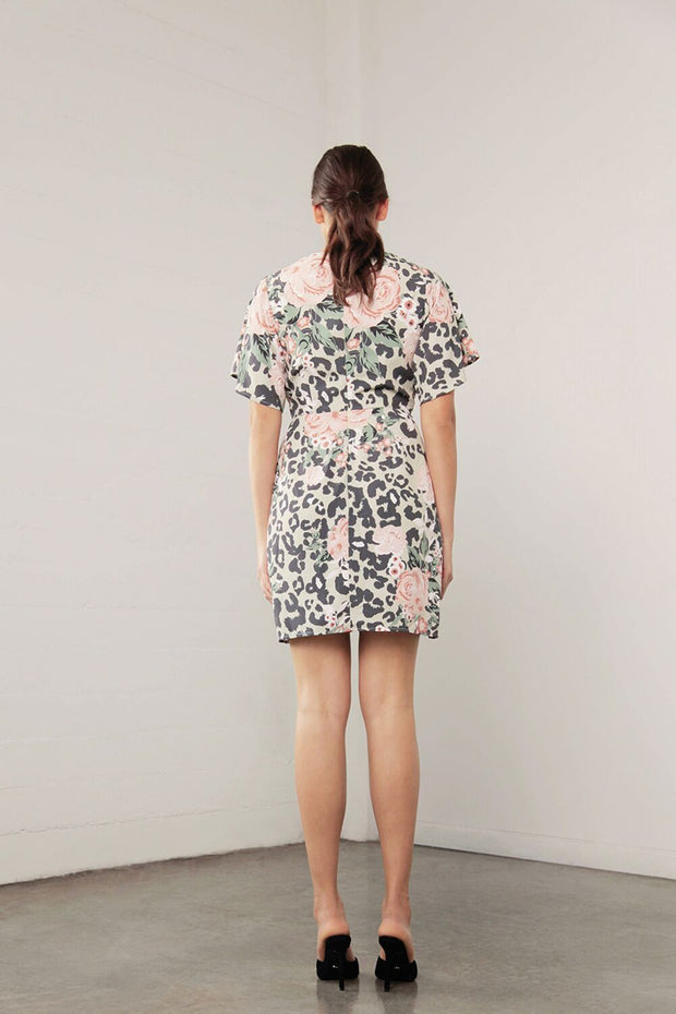 Shilla Enchant Animal Knot Dress - Floral/Animal