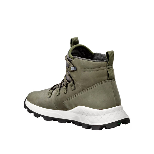 Mens Brooklyn Alpine Chukka - Dark Green Nubuck