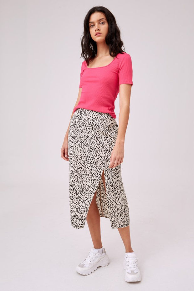 Optical Skirt - Cream Spot | Shop The Fifth Label at IKON in Arrowtown, NZ