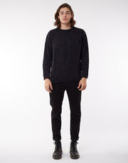 Scotty Knit Black | Shop Silent Theory online at IKON NZ