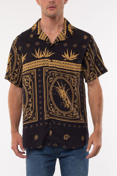 Tony Montanna SS Shirt - Black | Shop St Goliath Clothing at ikonnz.com NZ