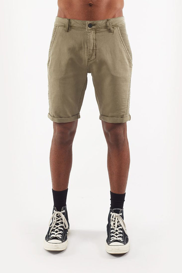 Badlands FW Short - Khaki | Shop St Goliath Clothing at ikonnz.com NZ