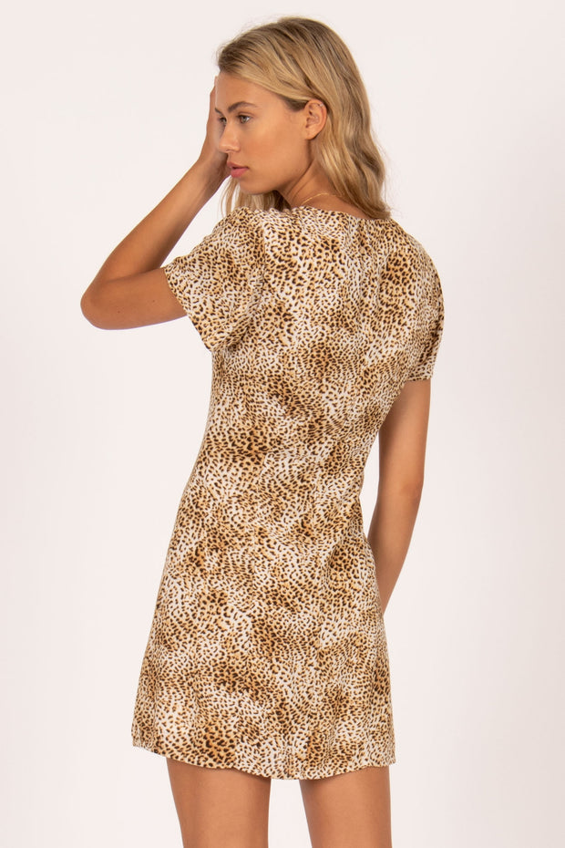 Iman S/S Woven Dress - Natural