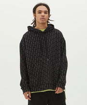 Ksubi Mens Dymo Hoodie Black | Shop Ksubi at IKON Arrowtown NZ