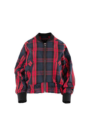 Cooper Red All About It Jacket Red/Navy Check | Shop Cooper at IKON