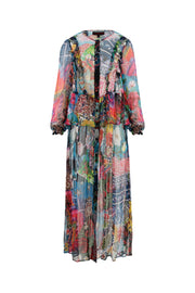 Cooper Floral Opening Dress - Multi