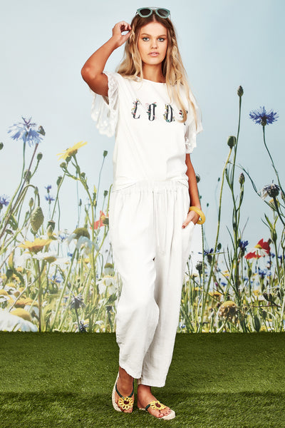 Coop Just Relax Pant - White | Shop Coop by Trelise Cooper at IKON