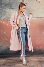Coop Coated In Love Coat - Pink