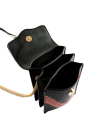Coop Gold Shoulder Bag - Black