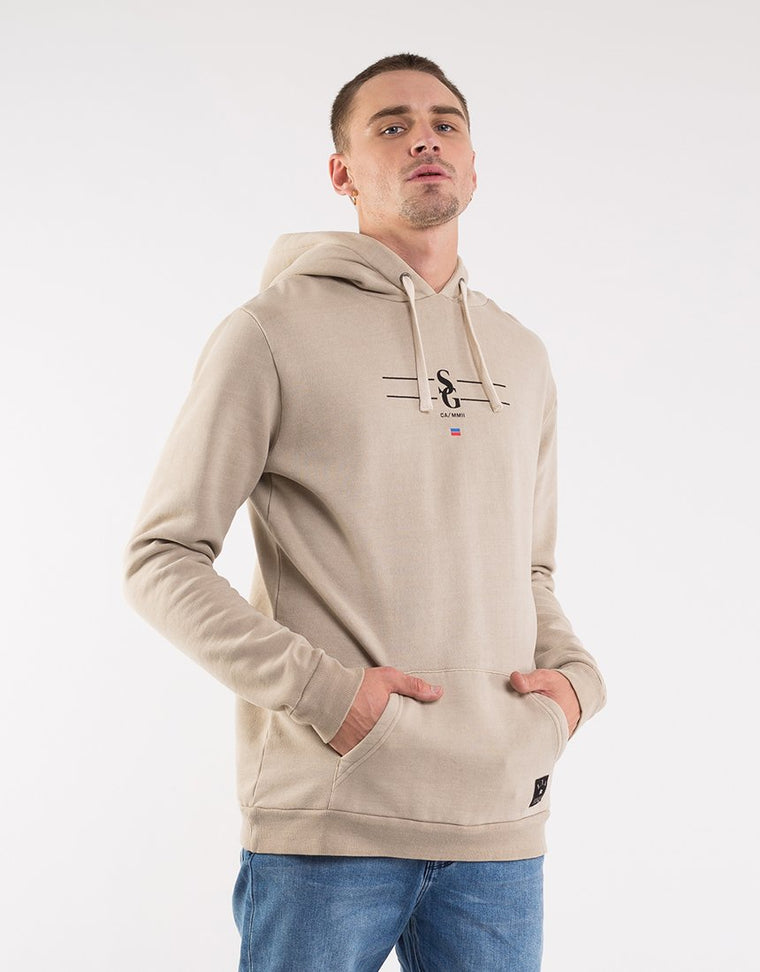 East Hoody Tan | Shop St Goliath Mens Clothing online at ikonnz.com NZ