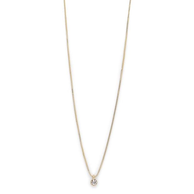 Lucia Pi Necklace - Single/Gold Plated | Shop Pilgrim Jewellery, IKON NZ
