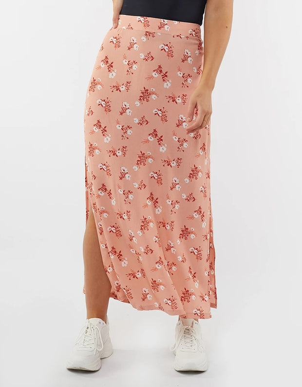 Vintage Floral Split Maxi - Vintage Floral | Shop All About Eve at IKON in Arrowtown, NZ