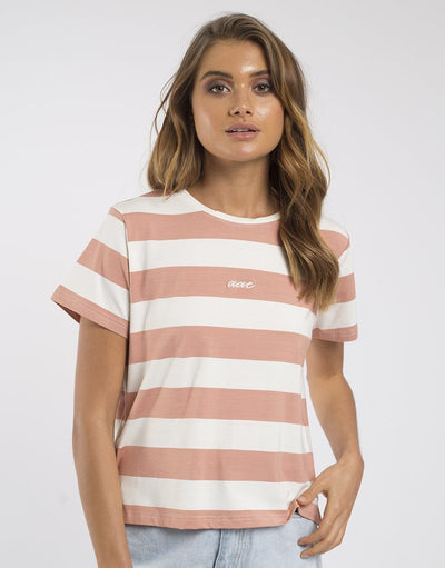 Verge S/S Tee - Sand | Shop All About Eve at IKON in Arrowtown, NZ