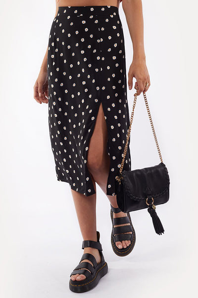 Daisy Days Midi Skirt - Print | Shop All About Eve at IKON NZ