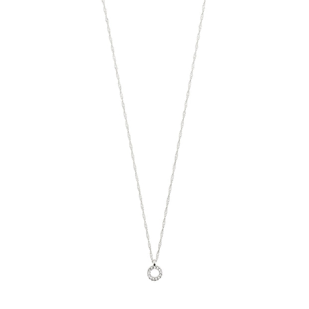 Tessa Necklace - Crystal/Silver Plated | Shop Pilgrim Jewellery, IKON NZ